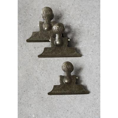 LW Art clips S Brass