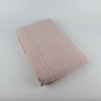 Linen & More tafelkleed roze