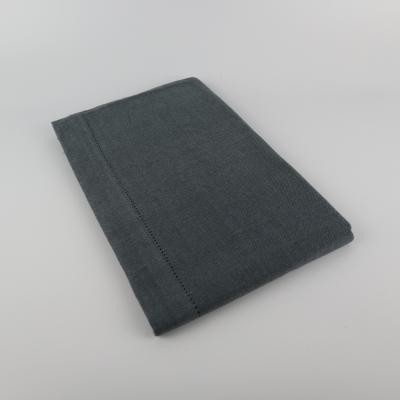 Linen & More tafelloper blue/grey
