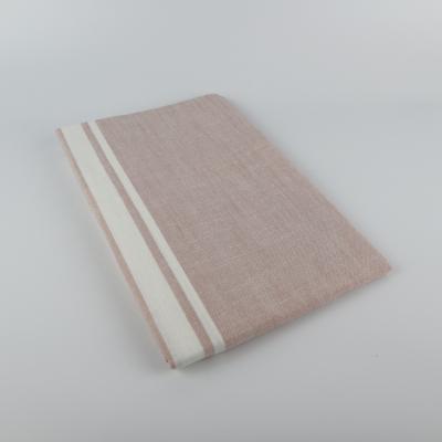 Linen & More tafelloper wit/roze