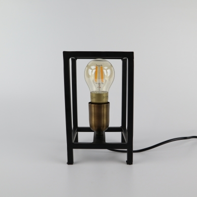 Tafellamp metaal zwart