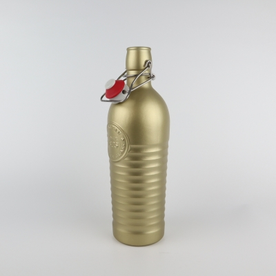 Beugelfles goud 1825 1.2L