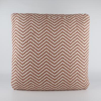 Kussen patroon peach/pink