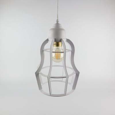 Hanglamp mat wit