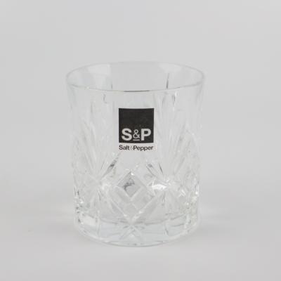 Whiskey glas salt & pepper