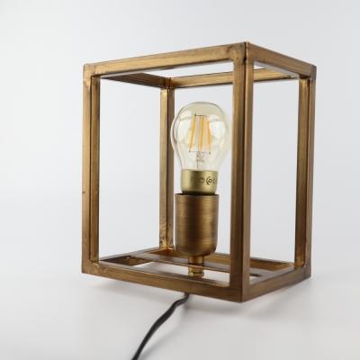 Wandlamp antiek goud