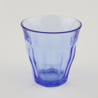 Picardie glas set van 6 marine