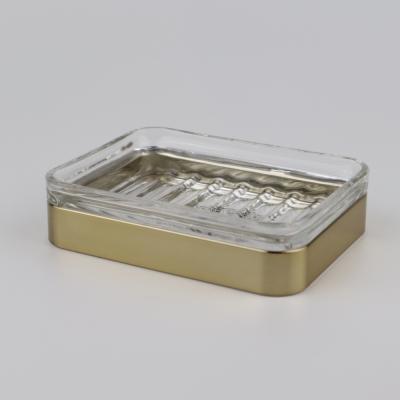Zeepschaal soft brass