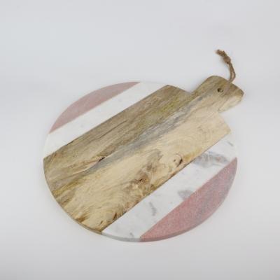 Plank Terrazzo rond