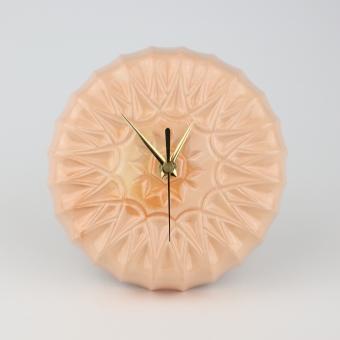 Keramisch Klok peach
