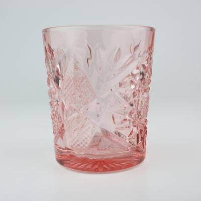 Glas Hobstar pink