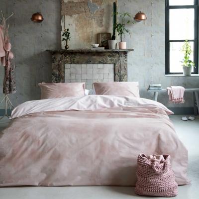 Walra luxe dekbedovertrek Cloudy  Days roze