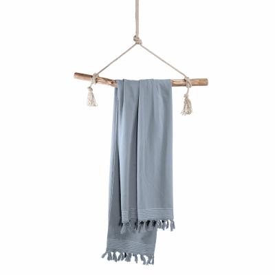 Walra Hamamdoek soft cotton blauw